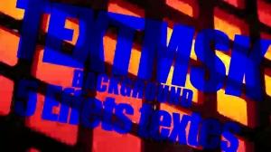 Template TEXTMSK pour FCPX.