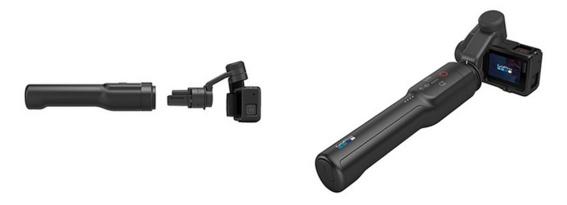 Possibilité d'avoir une stabilisation à main avec la camara GoPro