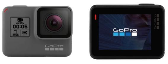 GoPro Hero en 4K à 30 fps...