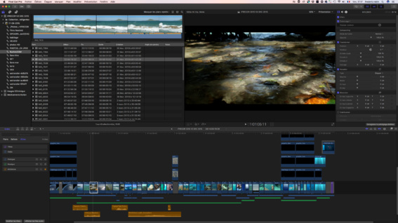 Nouveau Design Final Cut Pro 10.3