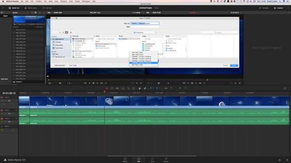 DaVinci Resolve 12.5.3 supporte le nouveau XML 1.6 de FCPX 10.3
