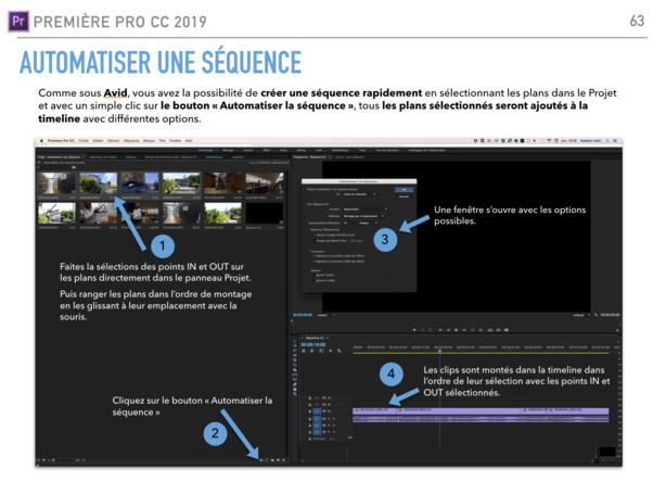 Automatiser une séquence sous Première Pro CC 2017