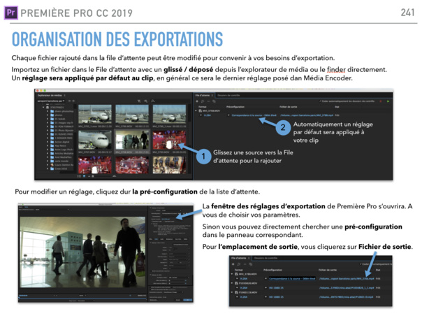 Ouvrir Média Encoder de la suite Adobe Creative CLoud