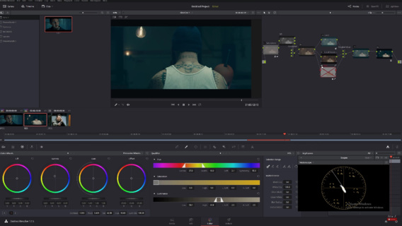 Réaliser le look Taken avec DaVinci Resolve 12