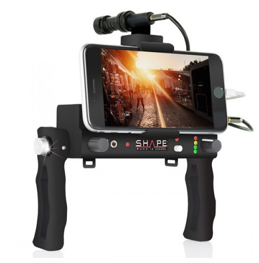 Cage Shape smartphone audio Power Controller Rig
