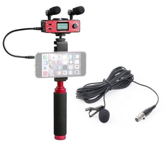 Mobile Journalisme avec Saramonic SmartMixer+LV600