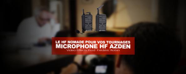 Micro HF Azden Pro XD : le HF nomade