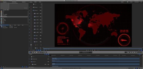 Motion 5 : animation HUD HighTech à télécharger