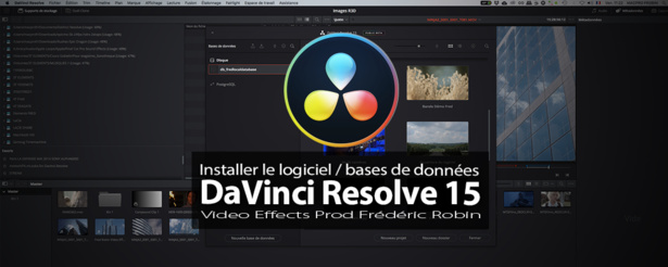 DaVinci Resolve 15 : Installer  le logiciel