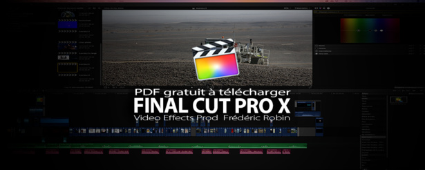 FCPX : PDF de formation gratuit à Final Cut Pro X
