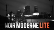 Crumplepop Noir Moderne Lite gratuit