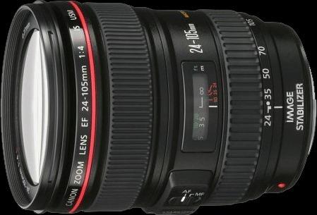 Canon 24-105 f/4 l'objectif standard