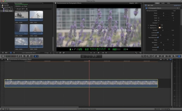 Photographic Effects : template FCPX / Motion 5
