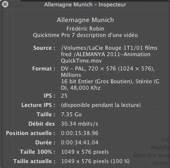 Installer Quicktime Player 7 avec Montain Lion