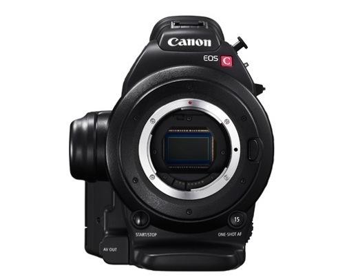 Canon C-100 avec monture EF ou EF-S