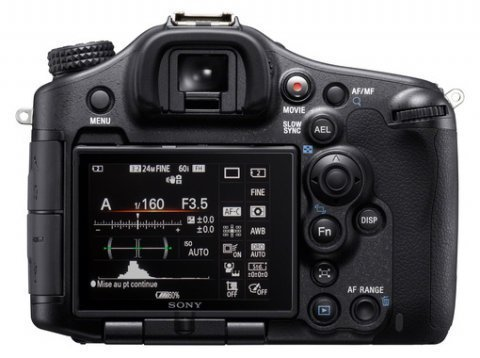 Sony : nouveau DSLR Alpha 99