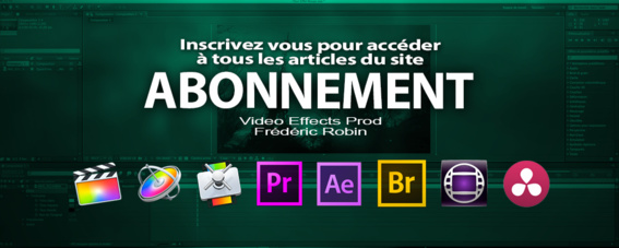 Le contenu de Video Effects Prod