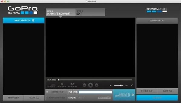 GoPro HD2 : La mise à jour