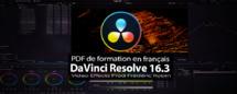 DaVinci Resolve : PDF de formation version 16.3 béta (avant version 17)