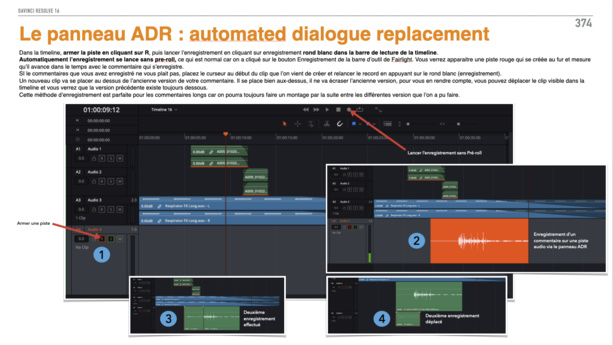 DaVinci Resolve : PDF de formation version 16.3