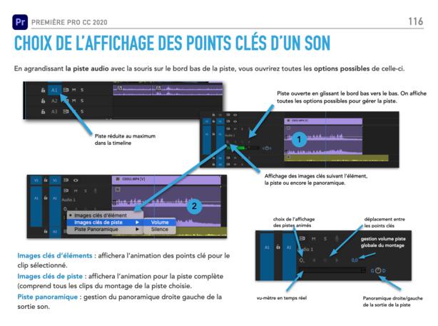 Première Pro CC 2020 : PDF de formation avec des exercices à réaliser