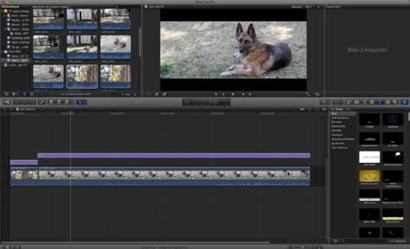 "FCPX : Effet ""Total Adjustement"""