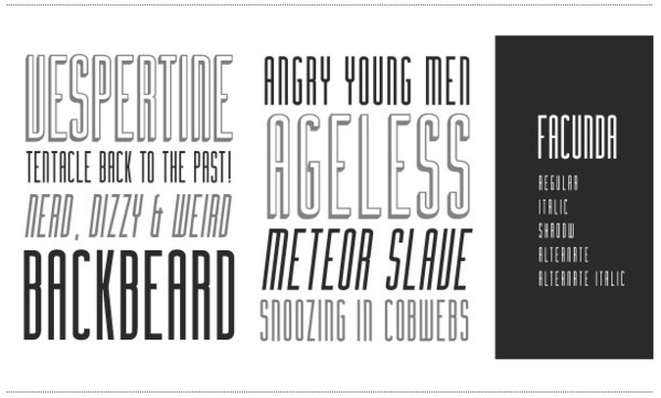 Free Fonts : typographies gratuites.