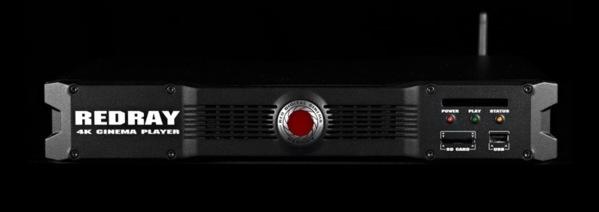Un lecteur cinema 4K : le REDRAY Cinema Player