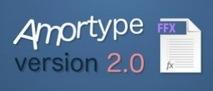 Mattrunks : Amortype 2 animation de typographies gratuit