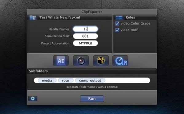 Clip Exporter de FCPX vers After Effects.