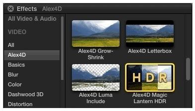 Alex4D Magic Lantern HDR