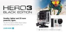 GoPro HD3 : mise à jour Firmware