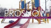"""Pixel Film Studios : Prosnow """"la neige à l'état brute"""""""