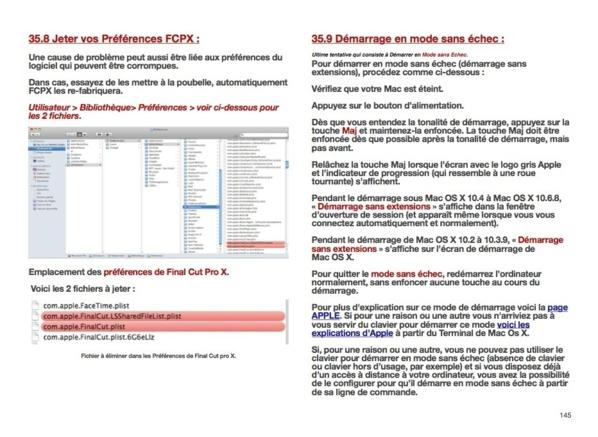 FCPX : Promotion sur le PDF de la formation FCPX 10.0.7 - 10.0.9