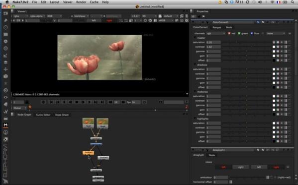 Travailler avec les images droite/gauche d'un scéne 3D.