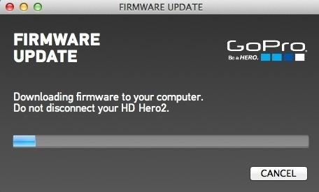 GoPro HD2 : mise à jour Cineform et Wifi BacPac
