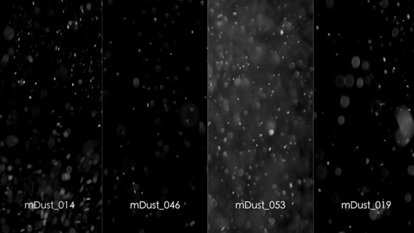 motionVFX : mDusts 100 éléments organiques en full HD