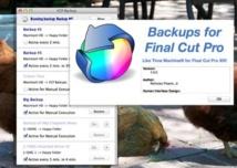 Backups Automatique pour Final Cut Pro X