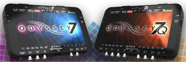 Les deux modèles de l'Odyssey 7 et 7Q.
