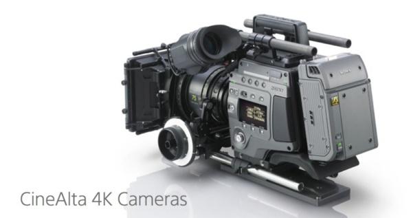 Caméra CineAlta F65 de Sony avec un capteur 8K.
