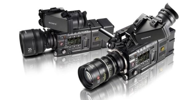 Les caméras F5 et F55 CineAlta de chez Sony.