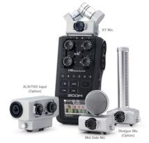 Zoom H6 Handy Recorder : l'enregistrement son portable 6 pistes.