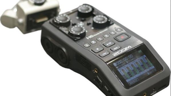 Le nouveau Recorder de chez Zoom : le H6.