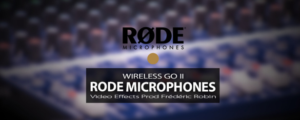Microphone HF : Rode Wireless GO II