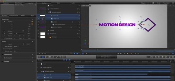 Animation d'un logo grâce aux masques de Motion 5.
