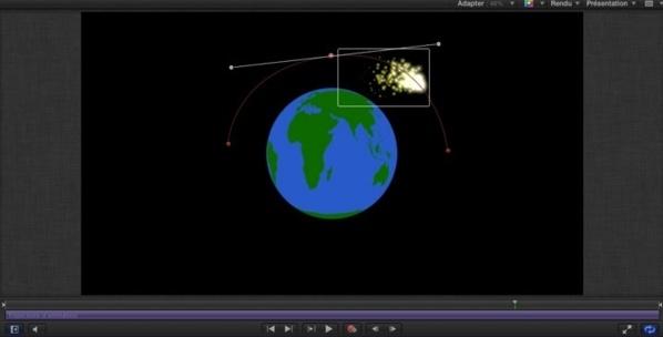 La fonction chemin de trajectoire sous Motion 5.
