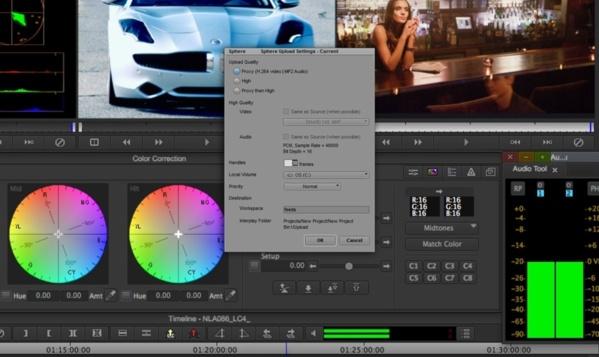 Media Composer Interplay pour partager ses montages via le Cloud.