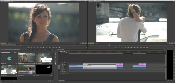Changer d'état de visibilité sur deux clips en même temps.