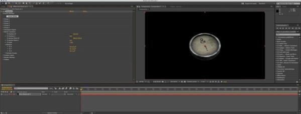"""Tutoriel """"Animation d'un clavier de machine à écrire"""" par VideoCopilot"""