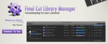 Test : Final Cut Library Manager